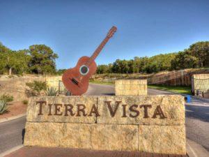 Tierra Vista Neighborhood Sign